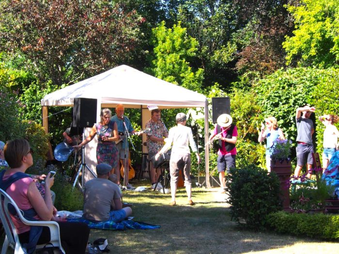 Live music at Open Gardens